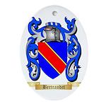 Bertrandet Ornament (Oval)