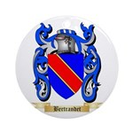 Bertrandet Ornament (Round)