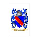 Bertrandeau Sticker (Rectangle)