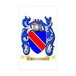 Bertrandeau Sticker (Rectangle 50 pk)