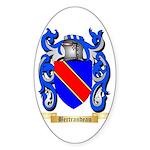 Bertrandeau Sticker (Oval 50 pk)