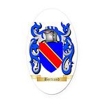 Bertrand Oval Car Magnet