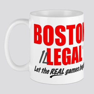 Boston Illegal reminder Mug