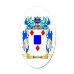 Bertoud Oval Car Magnet