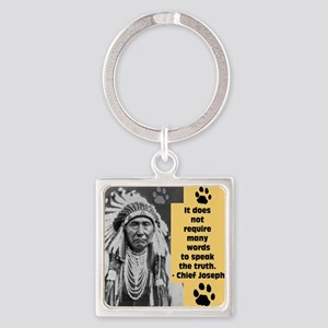 Chief Joseph Quote Keychains