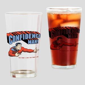 Confidence Man! Drinking Glass