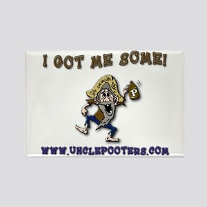 Uncle Pooters Headlight Sauce Rectangle Magnet
