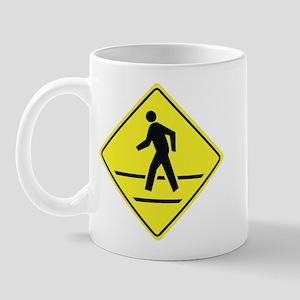 Pedestrian Crossing Mug