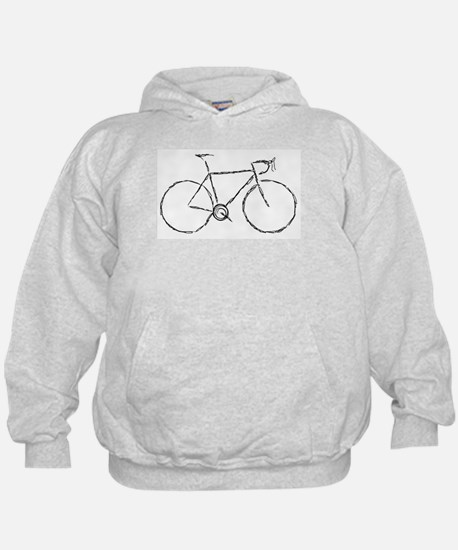 Impression of a Bicycle Hoodie