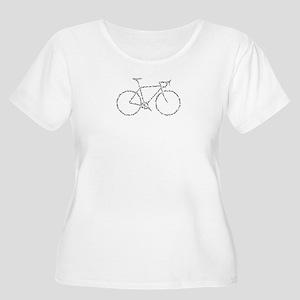 Word Bike Plus Size T-Shirt