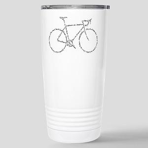 Word Bike Travel Mug