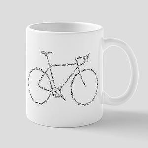Word Bike Mug