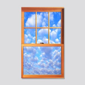 Fake Window Wall Decal
