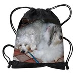 Rough Day Coton.png Drawstring Bag