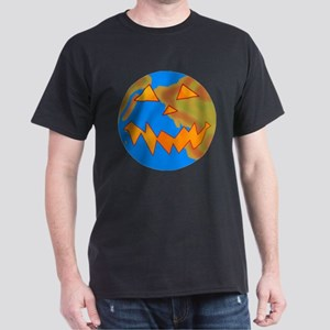 Jack o Lantern Earth Dark T-Shirt