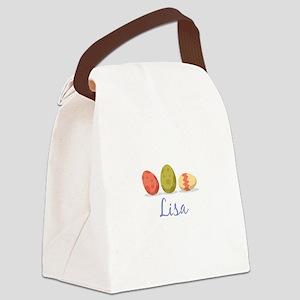 Easter Egg Lisa Canvas Lunch Bag