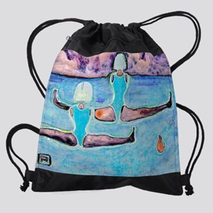 dont try this at homex2 Drawstring Bag