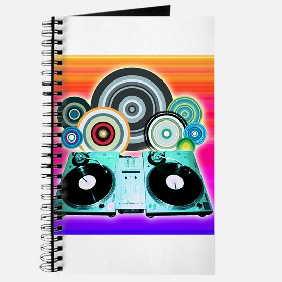DJ Turntable and Balls Journal