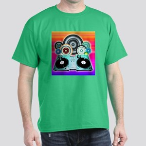 DJ Turntable and Balls T-Shirt