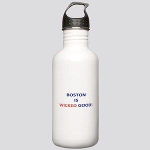 BOSTON IS WICKED GOOD! Stainless Water Bottle 1.0L