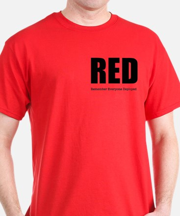 RED Men's 2-sided T-Shirt