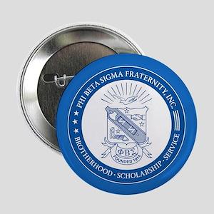 """Phi Beta Sigma Shield 2.25"""" Button"""
