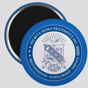 Phi Beta Sigma Shield Magnet