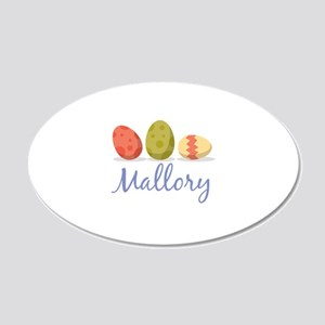 Easter Egg Mallory Wall Decal