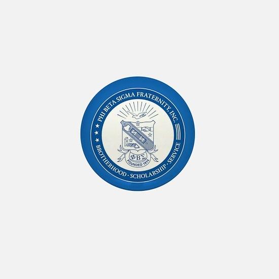 Phi Beta Sigma Shield Mini Button