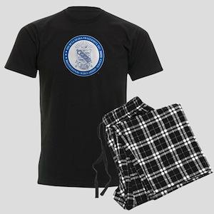 Phi Beta Sigma Shield Men's Dark Pajamas