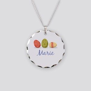 Easter Egg Marie Necklace