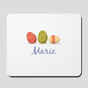 Easter Egg Marie Mousepad