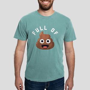 Full of Poop Emoji One Mens Comfort Colors Shirt
