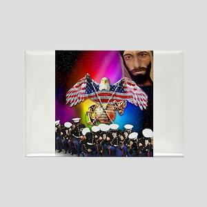 Honorable men of Prayer Rectangle Magnet
