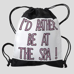 spa Drawstring Bag