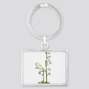 lily of Valley Landscape Keychain