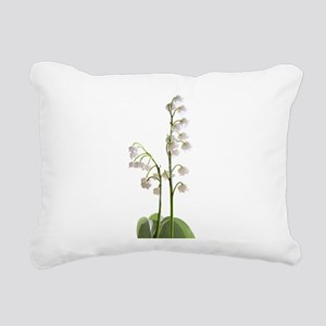 lily of Valley Rectangular Canvas Pillow