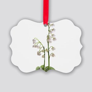 lily of Valley Picture Ornament