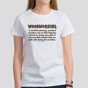 Woodworking Explained Women's T-Shirt