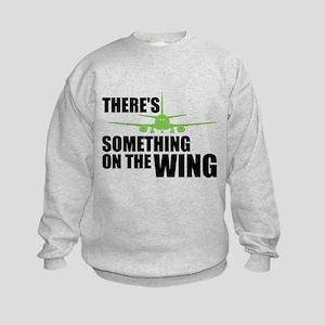 Something on the Wing Kids Sweatshirt