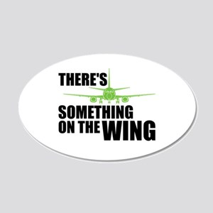 Something on the Wing 20x12 Oval Wall Decal