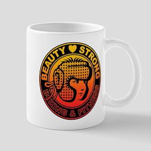 Beauty and strong Mug