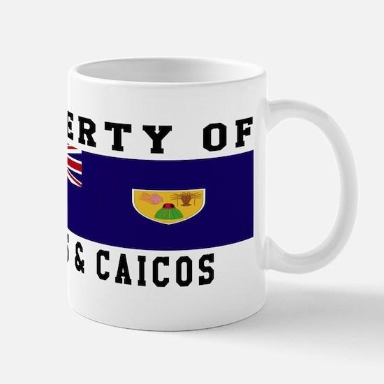 Property Of Turks & Caicos Mug