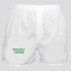 Hopelessly confused, t shirt Boxer Shorts