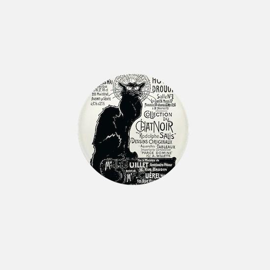 Chat Noir Cat Mini Button