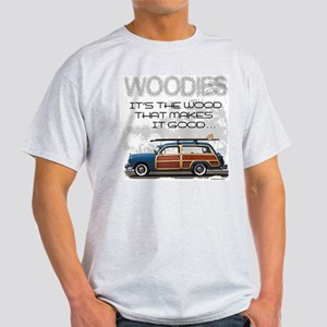 Woodies Ash Grey T-Shirt