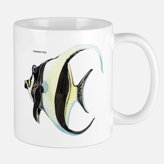 Moorish Idol Fish Mug