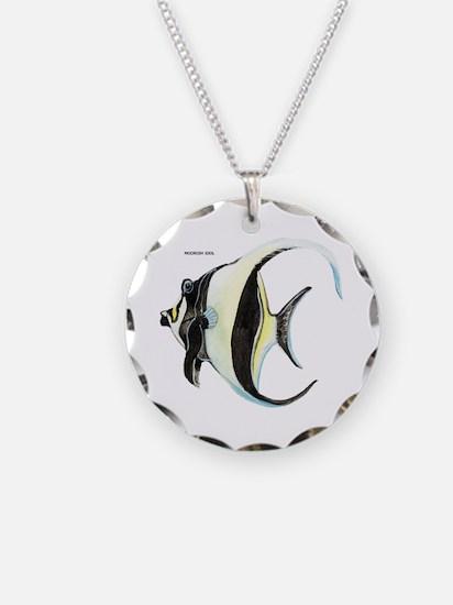Moorish Idol Fish Necklace