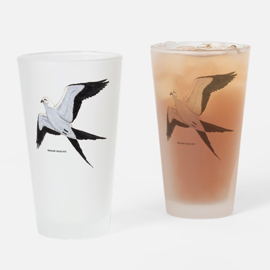Swallow-Tailed Kite Bird Drinking Glass
