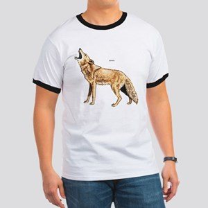 Coyote Wild Animal Ringer T